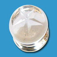 Star Glass Flesh Plug