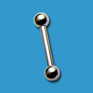 1.2mm Titanium Barbell