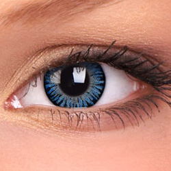 3 Tone Blue Contact Lenses