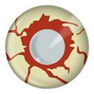 Bloodshot Zombie Contact Lenses