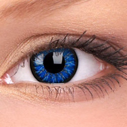 Blue Glamour Contact Lenses