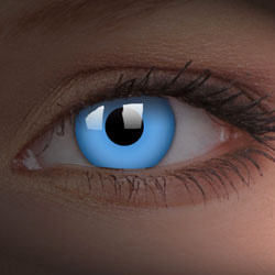 Blue UV Contacts