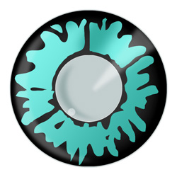 Green Werewolf Contact Lens