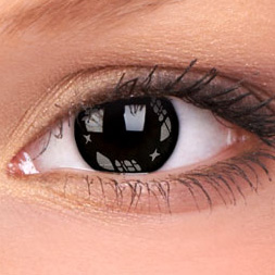 Grey Black Contact Lenses