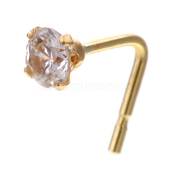 Jewel 9ct Gold Nose Stud