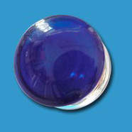 Plain Blue Glass Plug
