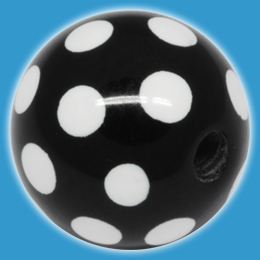 Polka Dot Acrylic Ball