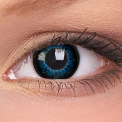 Starburst Blue Contacts