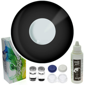 Black Colour Contact Lens Set