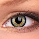 Green Glamour Contact Lenses