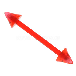 Red Cone UV Barbell