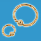18ct-Gold-Eyebrow-Ring 1.2mm