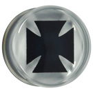 Gothic Cross Flesh Plug