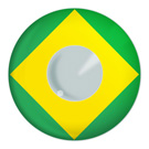 Brazilian Flag Contact Lenses