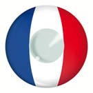 French Flag Contact Lenses