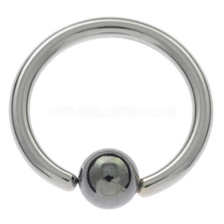 Surgical Steel Ball Ring Ear Jewellery