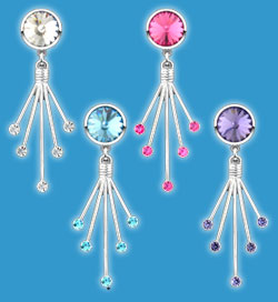 Non Piercing Belly Rings Dangle