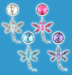 Non Piercing Belly Rings Dragonfly