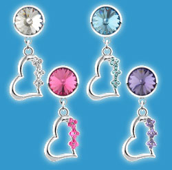 Non Piercing Belly Rings Heart