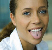 Tongue-Piercing-Woman