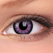 Violet Glamour Contact Lenses