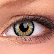 Glamour Green Contact Lenses