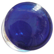 Blue Glass Flesh Plug