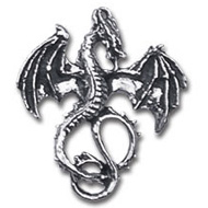 Alchemy Gothic Earring Wyverex