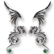 Alchemy Gothic Earrings Bestia Regalis