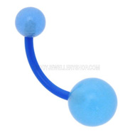 Blue Glow Navel Piercing Jewellery