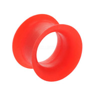 Ultra Thin Red Silicone Eyelet
