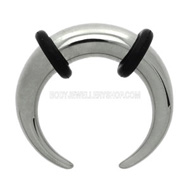 Crescent Steel Ear Stretcher