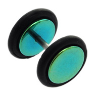 Green Steel Fake Ear Stretcher