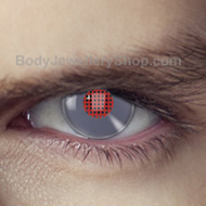Android Terminator Contact Lenses