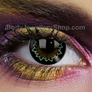 Butterfly Green Big Eye Contact Lenses