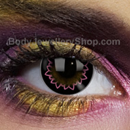 Butterfly Pink Big Eye Contact Lenses