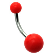 Neon Red Belly Bar