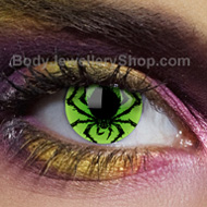 Poison Spider Gothic Contact Lenses
