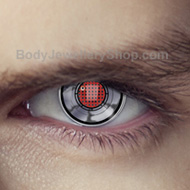 Robot Eye Terminator Contact Lenses