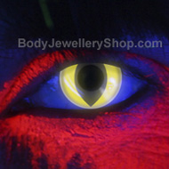 i-Glow Cat UV Contact Lenses