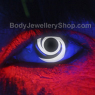 i-Glow Swirl UV Contact Lenses