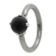 Black Milk Jewel Belly Piercing Ring