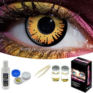 Golden Twilight Contact Lens Set