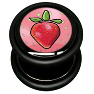Fake Ikon Strawberry Flesh Plug