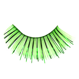 Glitter Green False Eyelashes