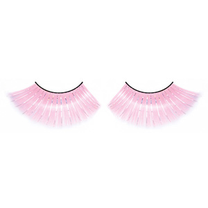 Glitter Pink False Eyelashes