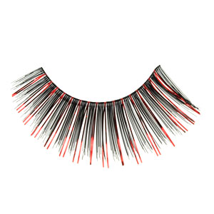 Glitter Red False Eyelashes