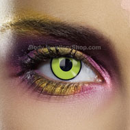 Green Frankenstein Contact Lenses