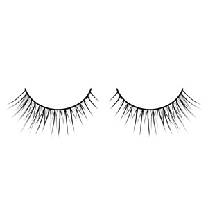 Natural False Eyelashes Gradual Points