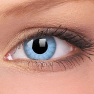 Solar Blue Contact Lenses
